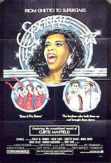 Sparkle (1976 movie poster)