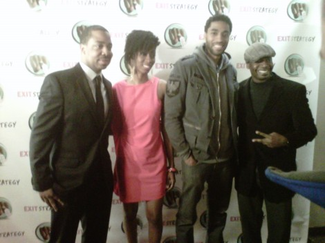 cast of Exit Strategy and Brother Marcus from 103.9fm