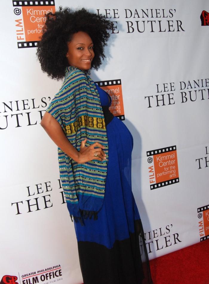 "Yaya Alafia at ""Lee Daniels' The Butler"" Philadelphia Red Carpet Premiere (photo: Monica Lyons at Sista Pics Photography)"