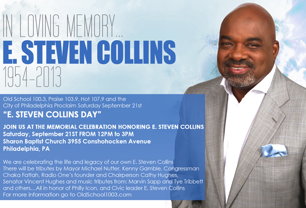 Celebrate the memory of radio legend and civic activist E. Steven Collins