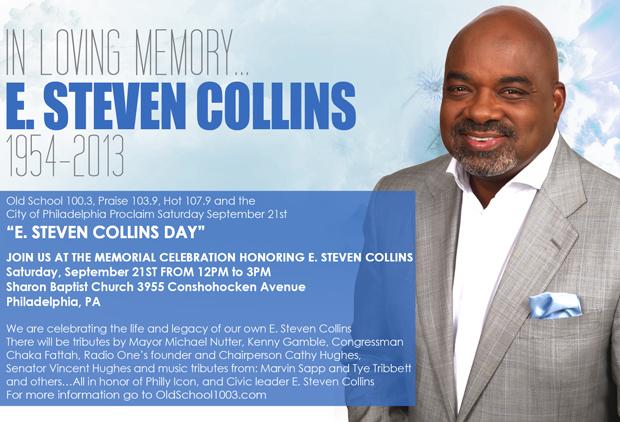Celebrate the memory of radio legend and civic activist E. Steven Collins