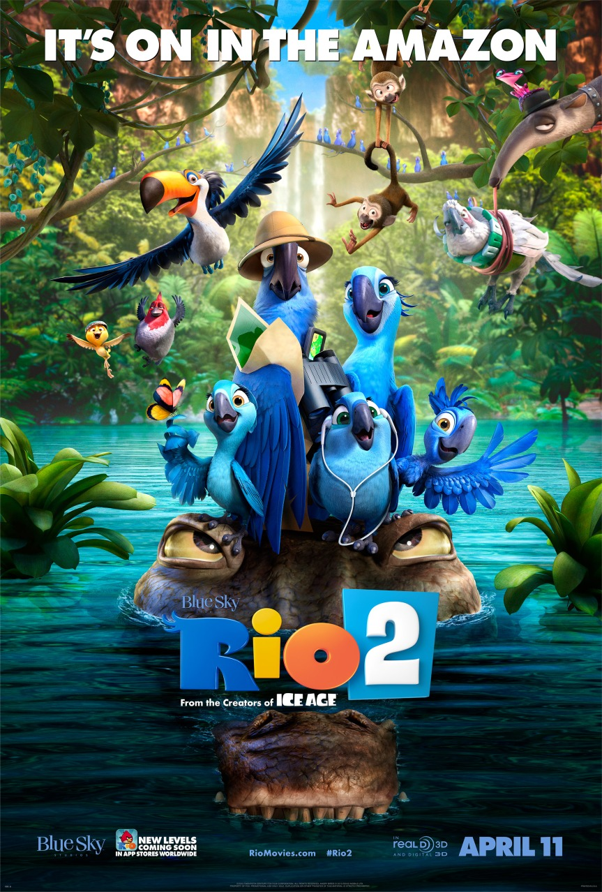 A Quick Review of 'Rio 2' and chat with director Carlos Saldanha