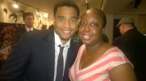 """Think Like A Man Too"" Philly red-carpet with Michael Ealy (photo: Thomasena Farrar)"