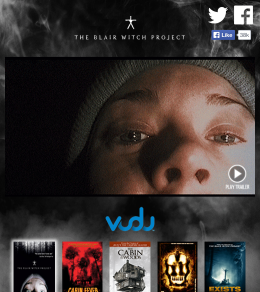 GIVEAWAY: win a digital ultraviolet download for THE BLAIR WITCH PROJECT courtesy of #LionsgateHorror