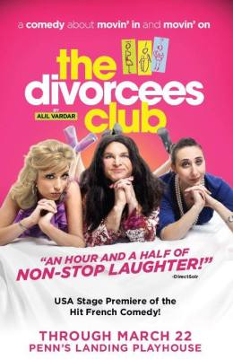GIVEAWAY: passes to 'The Divorcees Club' on Thursday, January 22 (Philadelphia,PA)