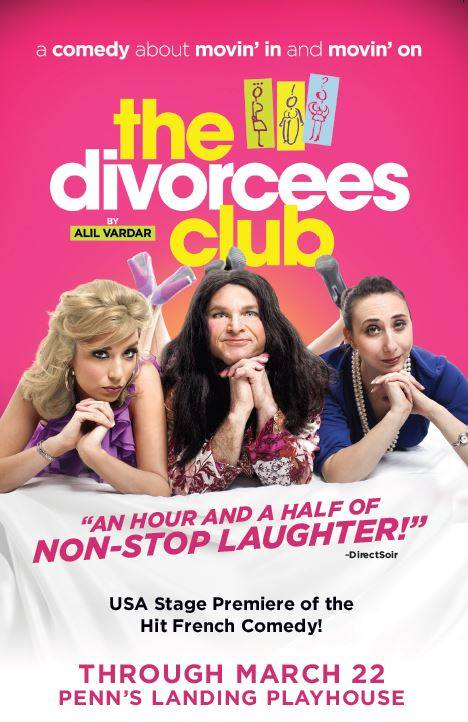 The Divorcees Club (photo: Penn's Landing Playhouse)