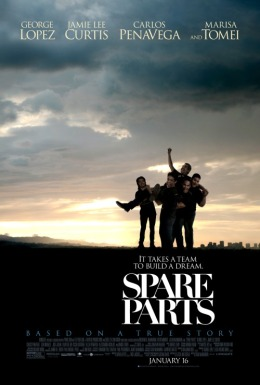GIVEAWAY: advanced screening of 'Spare Parts' Wednesday, January 7 (Philly,PA)
