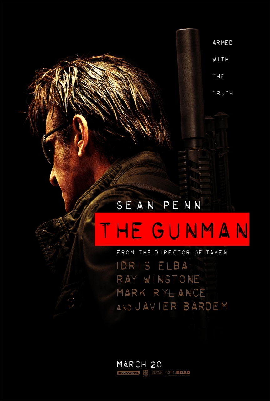 GIVEAWAY: 'The Gunman' advance screening – Monday, March 16 (Philly, PA/South NJ)