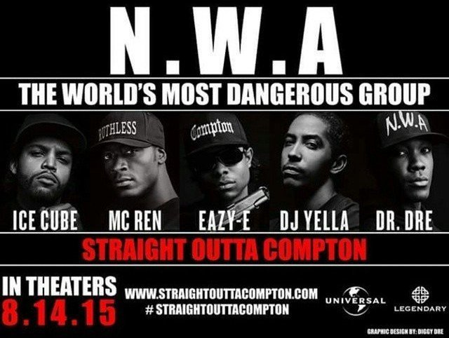 GIVEAWAY: advance screening of 'STRAIGHT OUTTA COMPTON' August 11 (Philly, PA)
