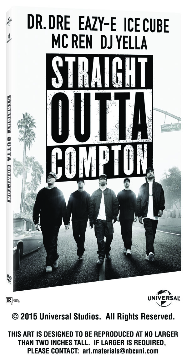 GIVEAWAY: 2nd chance at STRAIGHT OUTTA COMPTON Blu-ray/DVD Director's cut