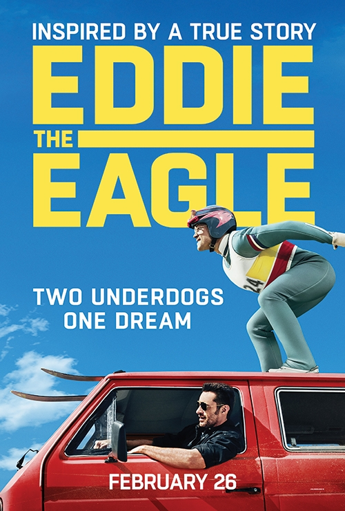 GIVEAWAY: advanced screening for EDDIE THE EAGLE Wednesday, February 24 (Philly, PA)