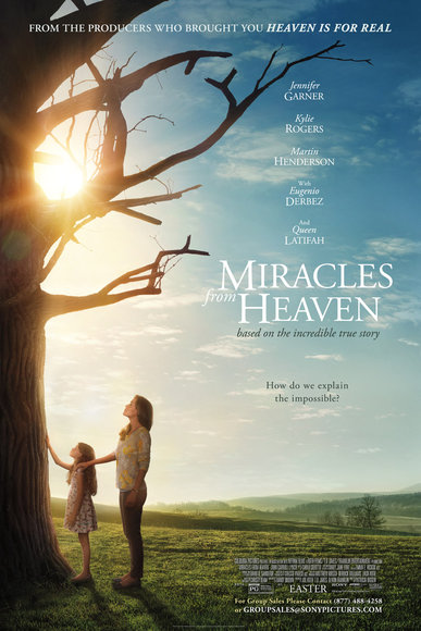 GIVEAWAY: advance screening of MIRACLES FROM HEAVEN Thursday, March 10 (Philly, PA)