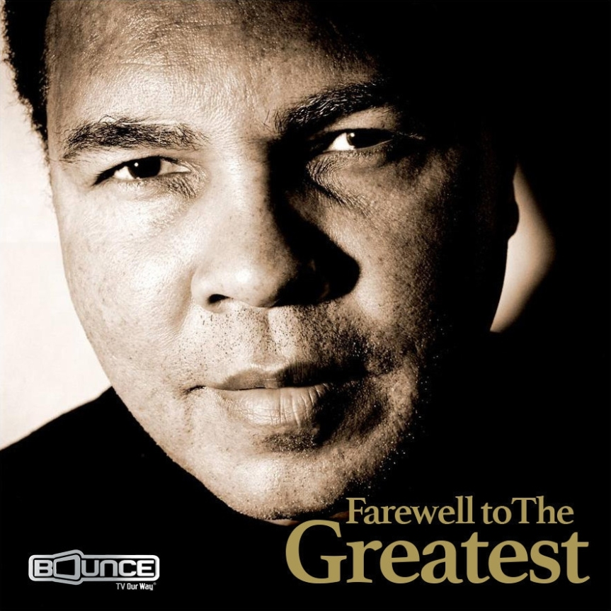 MMT Recommends: Bounce TV to Air Muhammad Ali Procession and Memorial Service Live onFriday