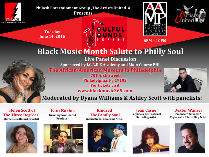 MMT Recommends: The Soulful Sounds Series Black Music Month Panel June 14th (Philly, PA)