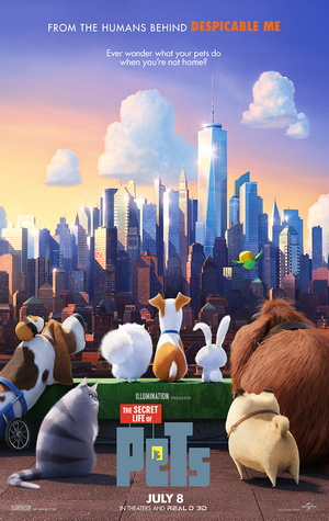 MMT Quick Review: THE SECRET LIFE OF PETS (with junior contributor Jayla)