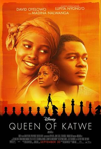 "MMT Quick Review: ""Queen of Katwe"" by guest contributor Carolee Houser Dunn"