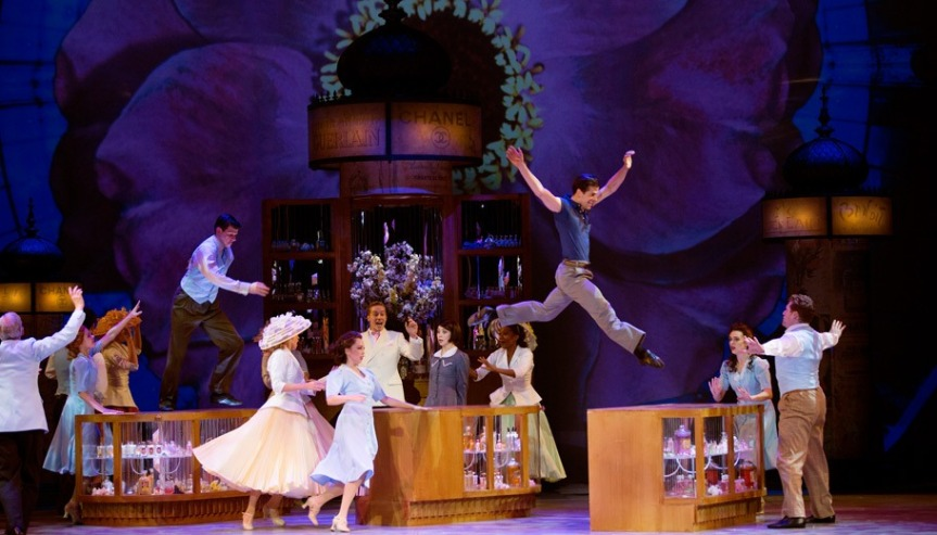 BROADWAY PHILADELPHIA jump starts its 2016-17 season with AN AMERICAN IN PARIS (November 23-27)
