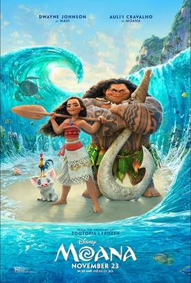 GIVEAWAY: advanced screening for MOANA on Wednesday, November 16 (Philly, PA)