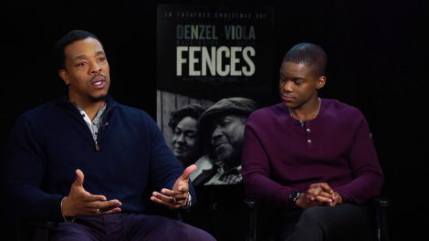 Russell Hornsby and Jovan Adepo