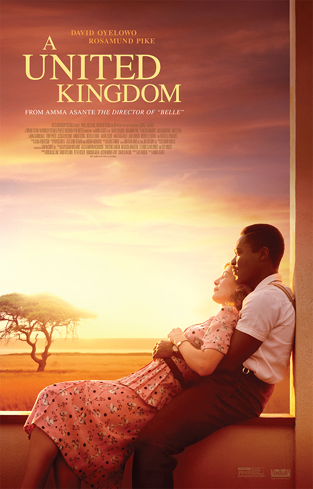 GIVEAWAY: advanced screening of A UNITED KINGDOM on Monday, February 13 (Philly, PA)