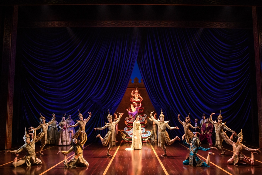 MMT Quick Review of THE KING AND I now playing on Broadway Philadelphia through April2