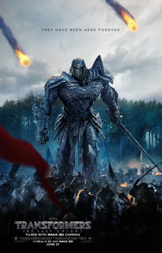 GIVEAWAY: advance screening of TRANSFORMERS: THE LAST KNIGHT on Monday, June 19 (Philly, PA)