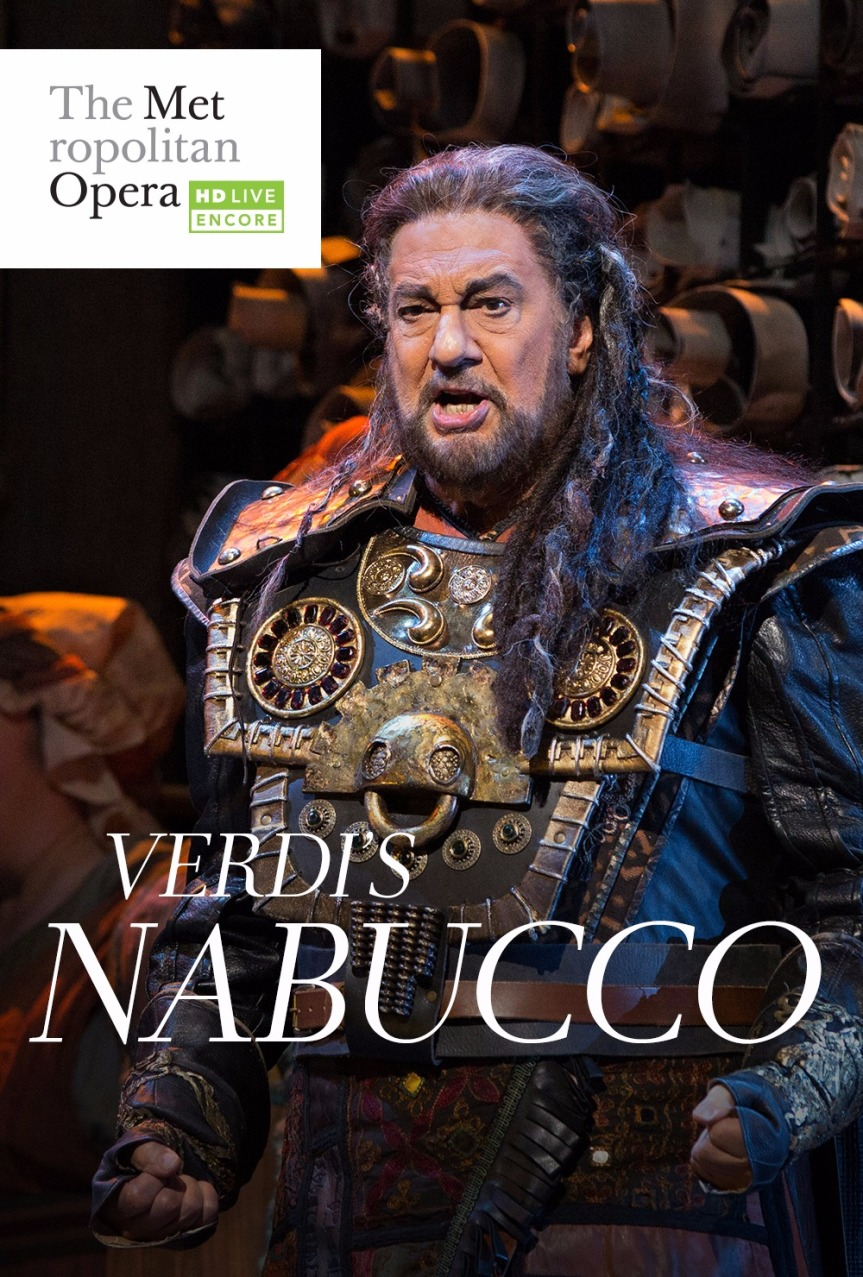 GIVEAWAY: PASSES FOR NABUCCO IN THE MET LIVE IN HD SUMMER ENCORE SERIES (PHILLY, PA AREA)