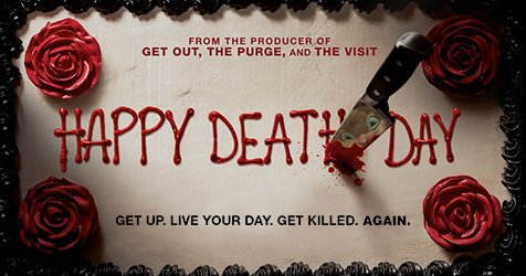 MMT Quick Review of 'HAPPY DEATH DAY' by contributor SamanthaHollins