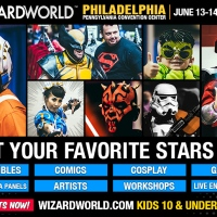 GIVEAWAY: pair of tickets to WIZARD WORLD PHILADELPHIA JUNE 13-16